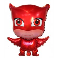Фольгированный шарик - фигура - Алетт (герои в масках)