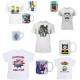 Чашки и футболки с любыми фотоизображениями