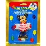 Свечи для торта Микки Маус на день рождения.