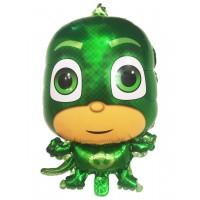 Фольгированный шарик - фигура - Гекко (герои в масках)