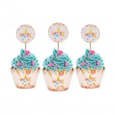 Набор для кексов и сладостей Единорог