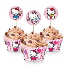 Набор для капкейков Китти (Hello Kitty)