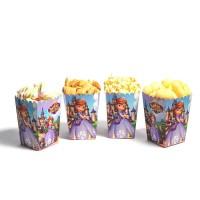 Коробки для попкорна Принцесса София