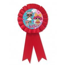 Медаль детская куклы ЛОЛ ( L.O.L )