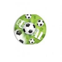 Картонные наклейки Футбол, 10шт
