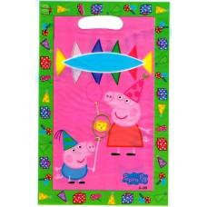 Пакеты подарочные Свинка Пеппа