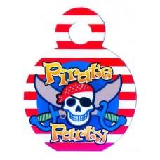 Медали Пираты 10шт в упаковке