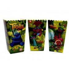 Коробки для попкорна Тролли