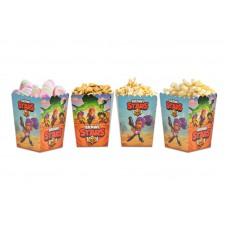 Коробки для попкорна Бравл Старс (Brawl)
