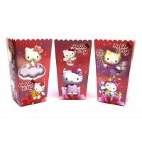 Коробки для попкорна Hello Kitty китти