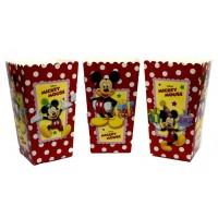 Коробки для попкорна Микки Маус