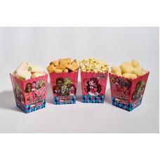 Коробки для попкорна Монстер Хай