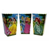 Коробки для попкорна Принцессы