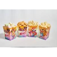 Коробки для попкорна Винкс