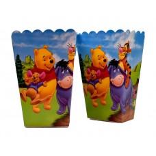 Коробки для попкорна Винни Пух