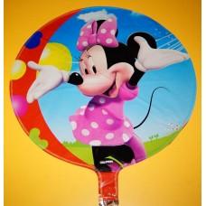 Фольгированный шарик - Микки Минни Маусы, круглый, 45см