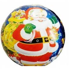 Фольгированный шарик Новогодний, круглый, 45см