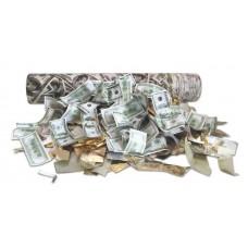 Хлопушка пневматическая 30 см (доллары)