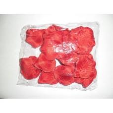 Искуственные лепестки роз, красные, 150шт/уп
