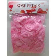 Искуственные лепестки роз, розовые, 150шт/уп