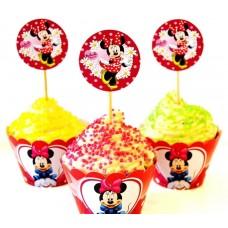 Набор для капкейков Минни Маус (Minnie Mouse)