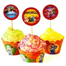 Набор для капкейков Ниндзяго (Ninjago)