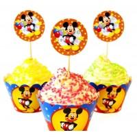 Набор для капкейков Микки Маус (Mickey Mouse)
