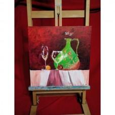 Картина Натюрморт Зеленый кувшин