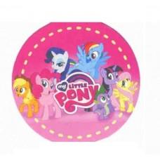 Картонные наклейки Little Pony, 10шт