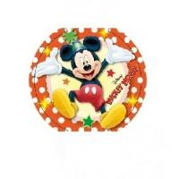 Картонные наклейки Микки Маус, 10шт