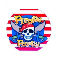 Картонные наклейки Пираты, 10шт