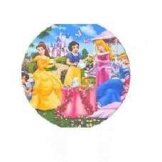 Картонные наклейки Принцессы, 10шт