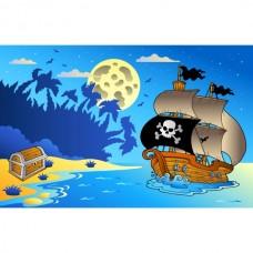 Магнит на холодильник Пираты