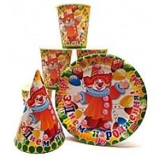 Набор посуды Клоуны