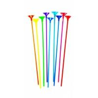 Палочка для воздушных шариков с держателем (разноцветные)