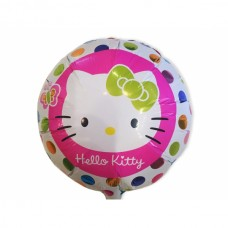 Шар фольга Hello Kitty, 45см, круглый