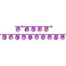 Гирлянда буквы З Днем Народження Принцесса София