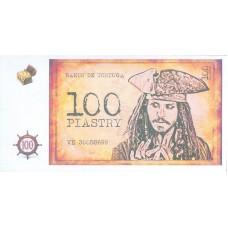 Сувенирные деньги Пиратские (Пиастры) 80шт/уп