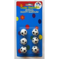 Свечи для торта Футбольные мячи