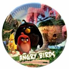 Тарелки Angry Birds 10 шт/уп