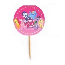 Топпер  для капкейков, кексов Little Pony