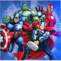 Салфетки Супер герои Мстители