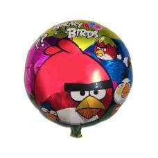 Фольгированный шарик Энгри Бердс (Angry Birds)