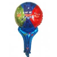 Фольгированый шарик фигура Герои в Масках