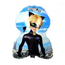 Фольгированный шарик - фигура - Супер Кот