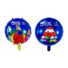 Фольгированный шарик с Among Us Амонг Ас