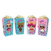 Коробки для попкорна Куклы ЛОЛ LOL